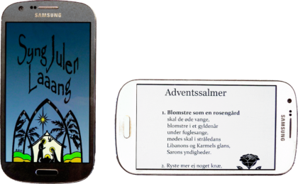 Sangbogen på mobilen